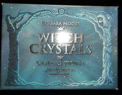 Sealed Brand New! Witch Crystals Casting Stones Divination Fortunetelling Wicca