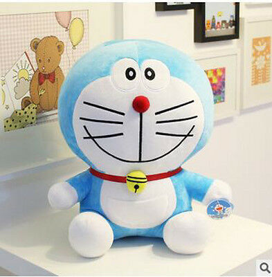 "Free shipping ! 8"" Cute Plush Toy Soft Smile Doraemon Doll Stuffed Animal Gift"