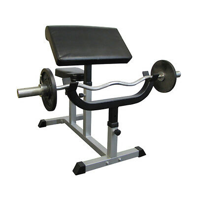 Valor Fitness Exercise Equipment Adjustable Arm Curl Bench