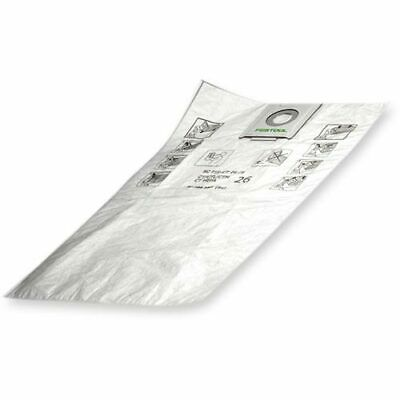 Festool Self Clean Filter Bags for CTL36E Extractor