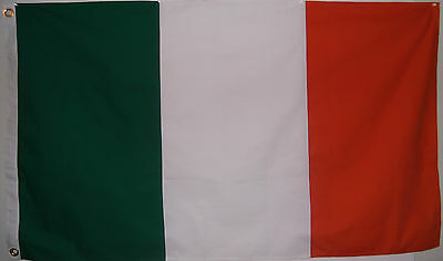 Heavy Cotton 3'x5' Ireland National Flag - Irish - Orange Green White