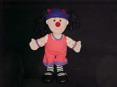 "18"" Loonette Plush Stuffed Doll From Big Comfy Couch 1995 Adorable"