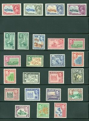 FIJI : Beautiful collection all Mint OG & in Very Fine Condition. SG Cat £402.00