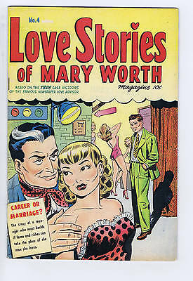 Love Stories of Mary Worth #4 Super CANADIAN EDITION
