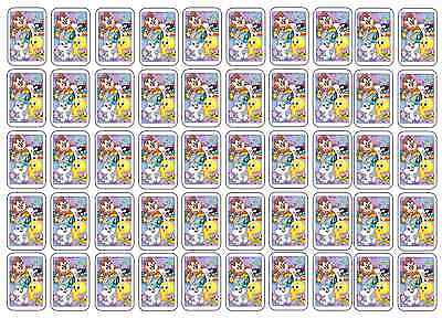 """50 Baby Looney Tunes Envelope Seals / Labels / Stickers, 1"""" by 1.5"""""""