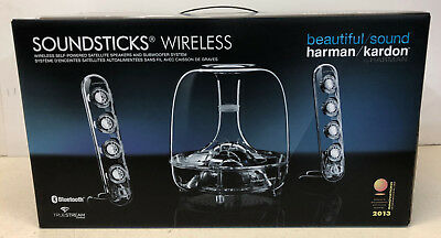 Harman Kardon Soundsticks Wireless Bluetooth 2.1 Speaker System iPhone Android