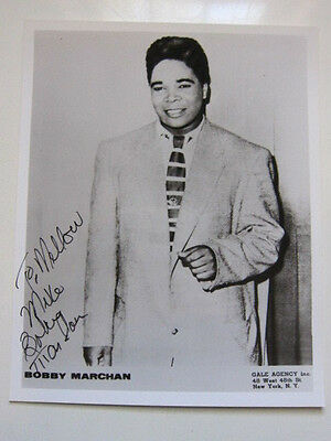 BOBBY MARCHAN 8x10 photo  AUTOGRAPHED