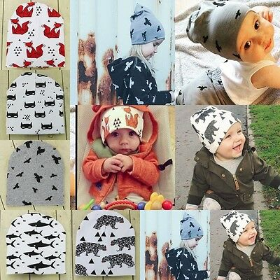 Unisex Cotton Beanie Hat For New Born Kid Child Baby Boy/Girl Soft Toddler Cap