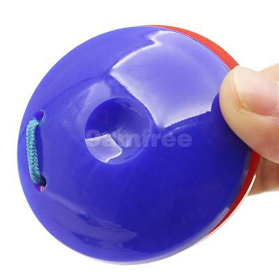 Spanish Plastic Finger Castanet Dancer Accessory Red and Blue Pack of 2 Pcs