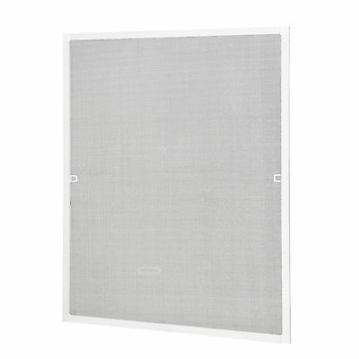 casa.pro Fly screen Aluminum frame 100x120 White Insect protection Window Grille