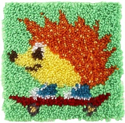 Caron WonderArt Latch Hook Rug Kit Hedgehog (426111)