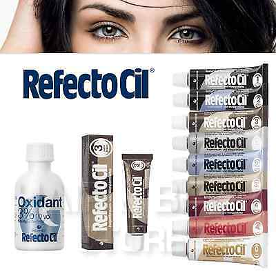 REFECTOCIL TINTURA COLORANTE x CIGLIA E SOPRACCIGLIA 15ml + OSSIGENO LIQUID 50ml