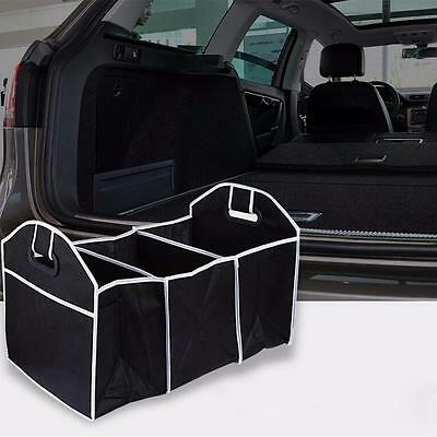 Car Truck Auto Storage Bin Bag Trunk Organizer Collapsible Folding Caddy New