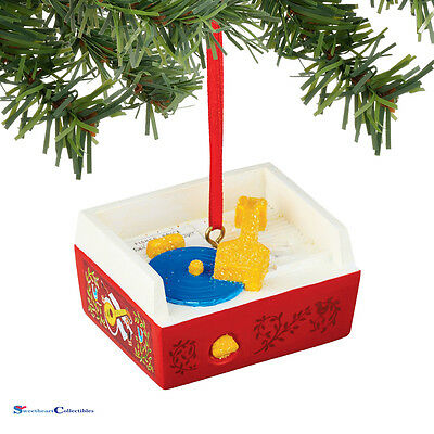 Department 56 Fisher Price Record Player Ornament 4045021