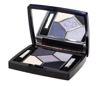 Dior 5 Couleurs All-In-One Artisrty Blue Eyeshadow Palette #208 Navy Design 4.4g