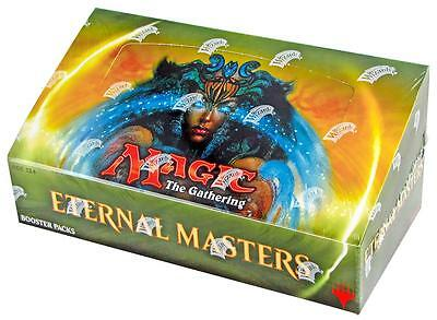 "Mtg Eternal Master Box Caja De 24 Booster Packs English "" New & Sealed """