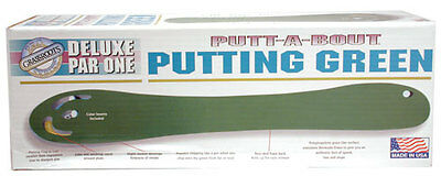 Deluxe Par 1 Putt-A-Bout Indoor Practice Putting Green Golf Training Putter Aid
