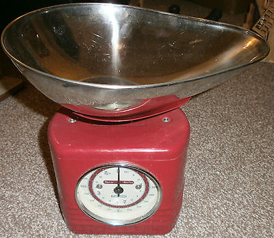 Typhoon Vintage Kitchen Red Scales - Retro - Good Condition