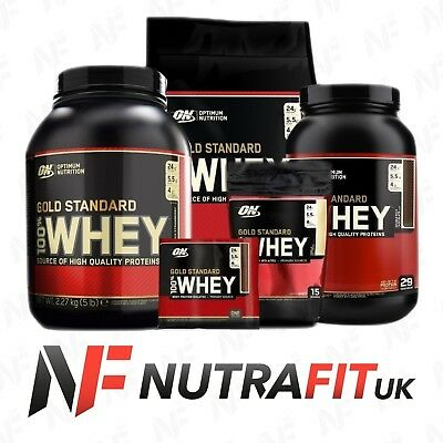 ON OPTIMUM NUTRITION GOLD STANDARD 100% WHEY high quality protein