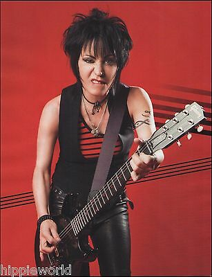 Joan Jett with her Signature Gibson Melody Maker guitar 8 x 11 pinup photo print