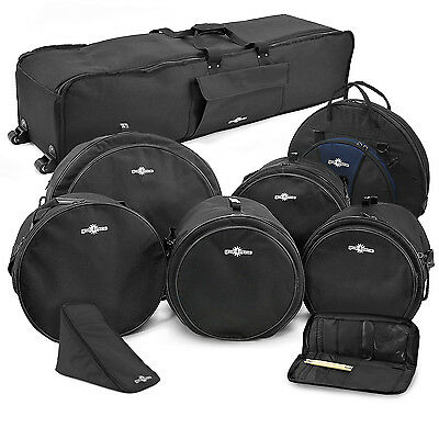 New Complete Drum Gig Bag Pack by Gear4music