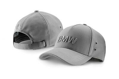 SALE !!!! Original BMW Wordmark Cap Basecap Kappe grau grey 80162411104