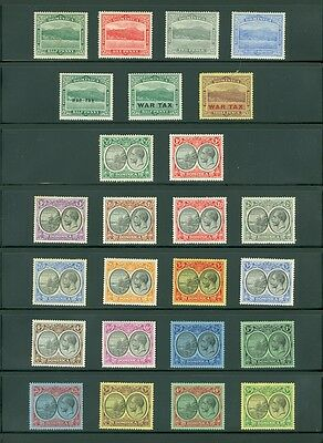 DOMINICA : Beautiful collection all Mint OG & in Very Fine Condition SG Cat £345