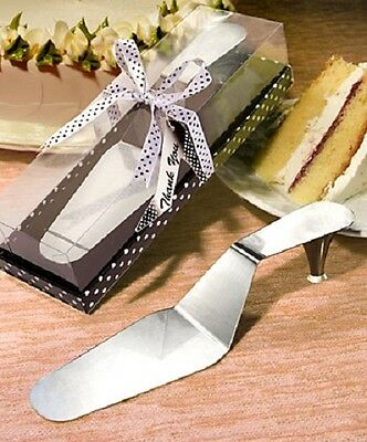 Stylish Stainless Steel Shoe Cake Server - NEW - Wedding Favours and Gifts