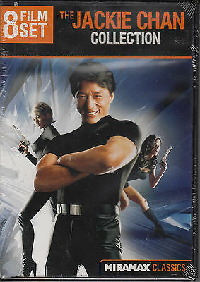 The Jackie Chan Collection: 8 Film Set (DVD, 2012, 2-Disc Set) New