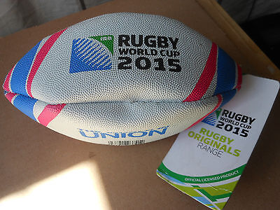 2015 mini union Rugby World Cup fun ball 100% synthetic