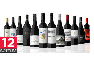 Showcase Mixed Australasian Red Wine Bundle (12 Bottles)