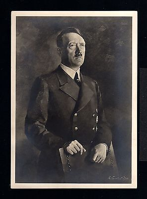 11750-GERMAN EMPIRE-WWII Third REICH ADOLF Hitler ORIGINAL POSTCARD.Hoffmann.