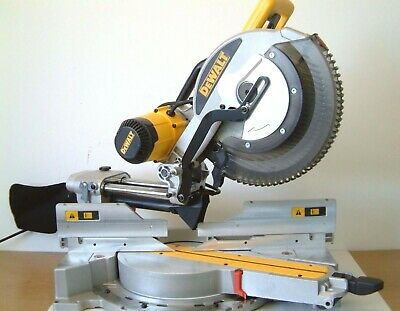 DeWALT DWS780 XPS 305mm SLIDING COMPOUND MITRE SAW 110v UK G'teed