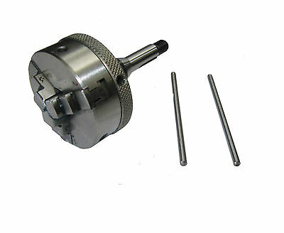 Rdgtools 45Mm 3 Jaw Self Centering Lathe Chuck With 8Mm Adaptor Watchmaking
