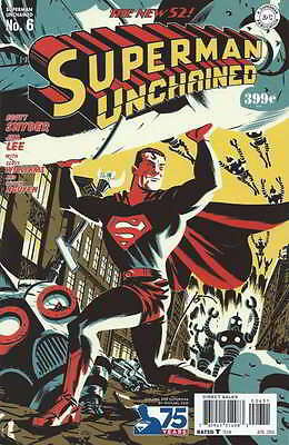 Superman Unchained #6 1St Print Vf/nm Golden Age Variant Michael Cho