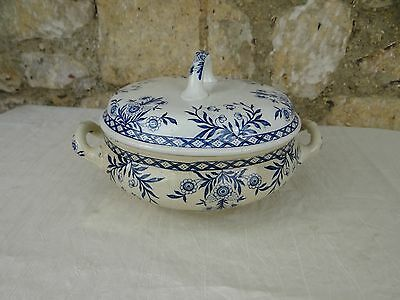Antique French ceramic soup tureen - From Lunéville 1920 -