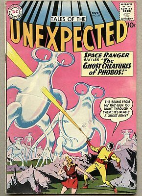 Tales Of The Unexpected #55-1960 fn+ DC Space Ranger Nick Cardy