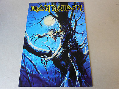 IRON MAIDEN post card  FEAR OF THE DARK
