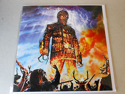 IRON MAIDEN greeting card  WICKERMAN