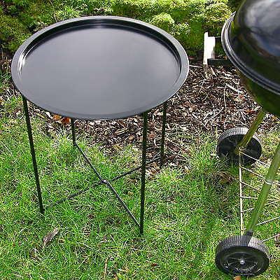 Grill side table, Barbecue table FOLDING, Garden Drop-leaf Shelf