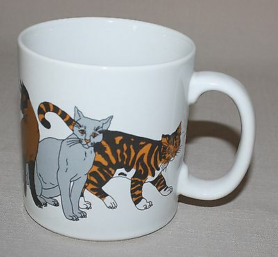 Cat Lovers Ceramic Mug Trend Pacific Coffee Cup 7 Breeds