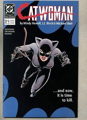 Catwoman #3-1989 nm+ 1st Catwoman series Batman Mindy Newell