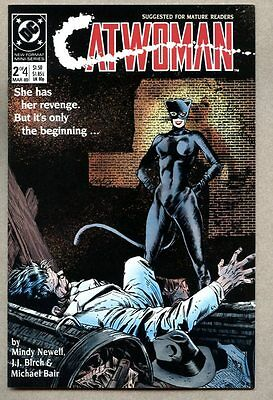 Catwoman #2-1989 nm- 1st Catwoman series Batman Mindy Newell