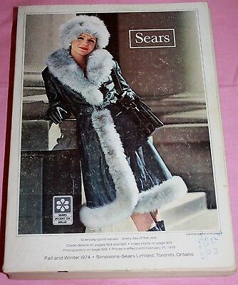 Vintage Sears Fall And Winter Catalog 1974-Sears