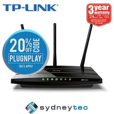 New TP-Link Archer C59 AC1350 Wireless Dual Band Router