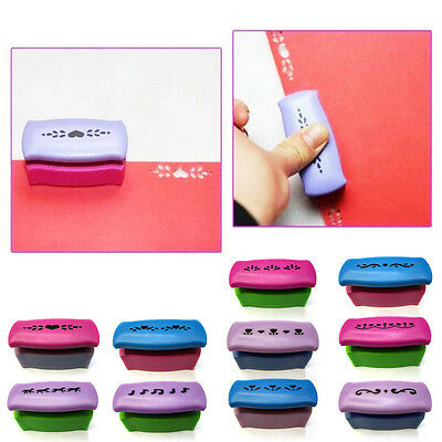 Printing Paper Hand Shaper Scrapbook Tags Cards Craft DIY Punch Cutter Tool EW