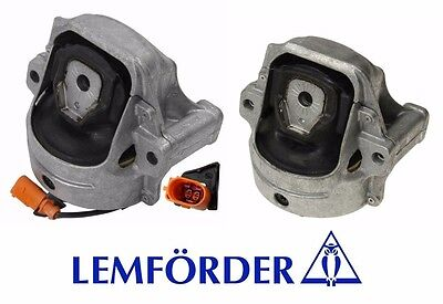 For Audi A4 2009-2012 A5 2010-2012 Pair Set Of Left /& Right Engine Mount OEM