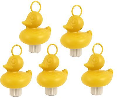 Hook A Duck With Hook Hard Plastic Toy Bath Fairground Floating Weighted Game