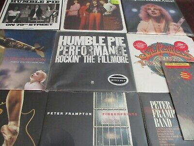 PETER FRAMPTON HERD HUMBLE PIE CLASSIC RECORDS 200 GRAM + SOLO Sealed 14 LP Set