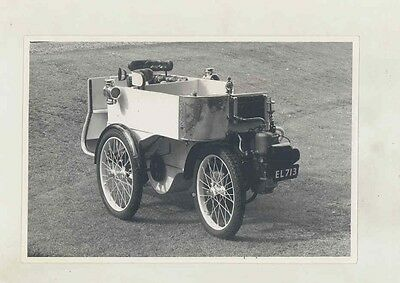 1901 Sunbeam Mabley DeDion 3-Wheel Automobile ORIGINAL Photo ww1259